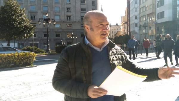 El secretario general del PP de Asturias, Luis Venta