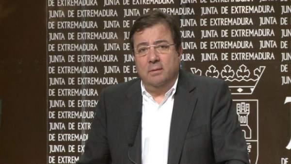Presidente de Extremadura, Guillermo Fernández Vara