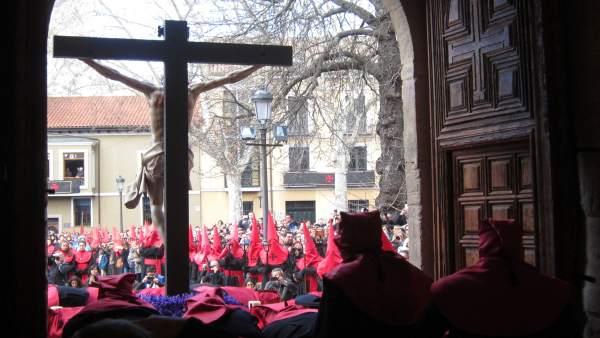 Procesión del Cristo de la Luz en Valladolid. 29-3-2018