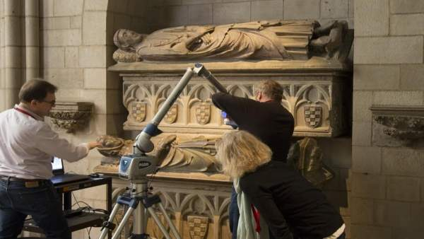 Sepulcros de los condes de Urgell ubicados en Nueva York