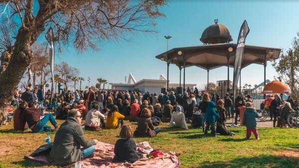 La Pèrgola de la Marina de València s'ompli de música a la primavera