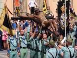 Cristo de Mena Legión Semana Santa Málaga