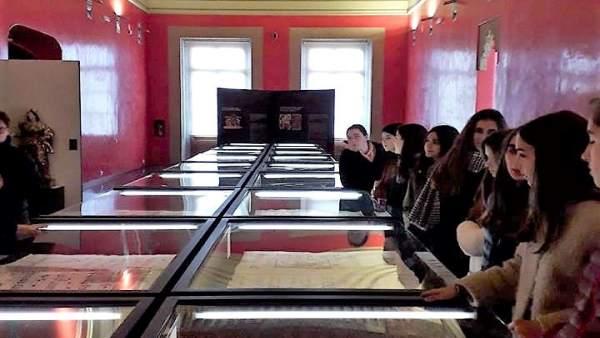 Exposición de los cantorales en Huesca