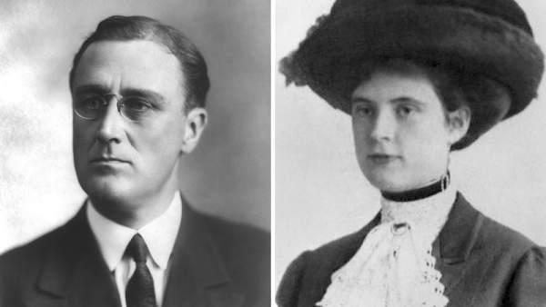Franklin Roosevelt y Lucy Mercer