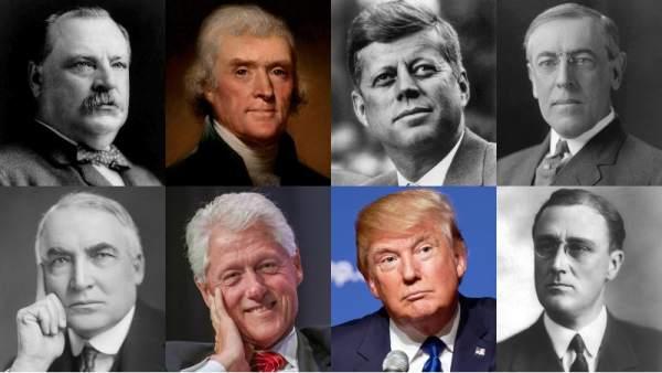 Presidentes de EE UU