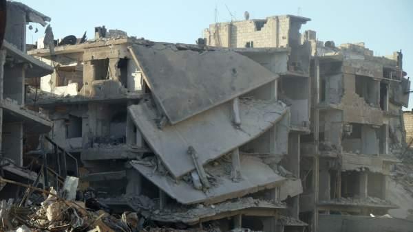 Resultat d'imatges de NUEVO ATAQUE QUIMICO MORTAL A SIRIA