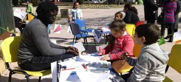 Participantes en el plan de convivencia intercultural