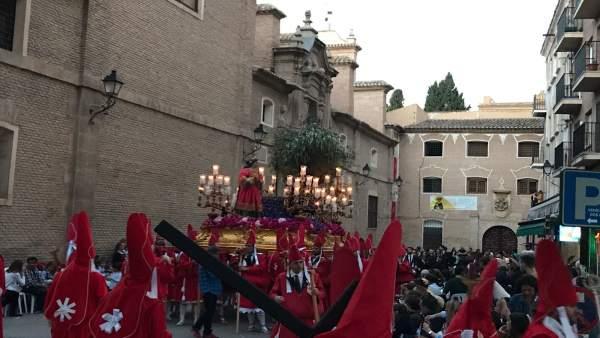 Procesión, Semana Santa, 'Los Coloraos', Miércoles Santo