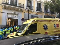 Lugar del suceso en Madrid