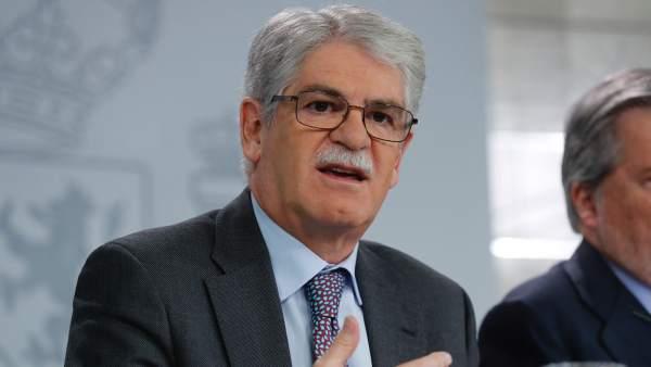 El ministro de Asuntos Exteriores español, Alfonso Dastis.