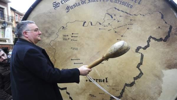 El bombo más grande del mundo está en Teruel