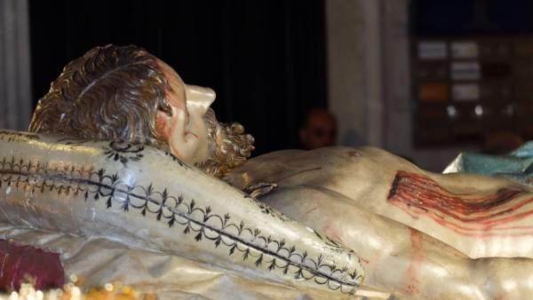 Valladolid: Cristo Yacente