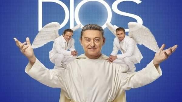Cartel de la comedia 'Obra de Dios'