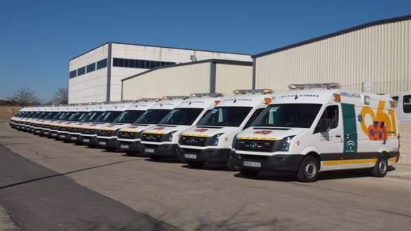 Nuevas UVI Móviles Adquiridas Por El 061