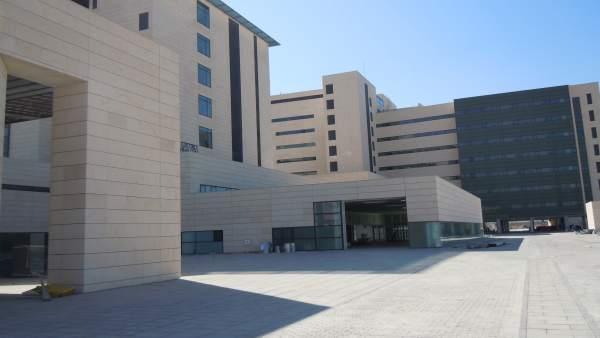 Exteriores Hospital del Campus de la Salud de Granada (PTS)