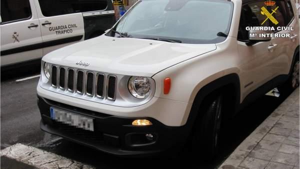 Vehículo robado en Alicante