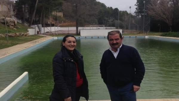 La piscina municipal de Jimena mejora su estado