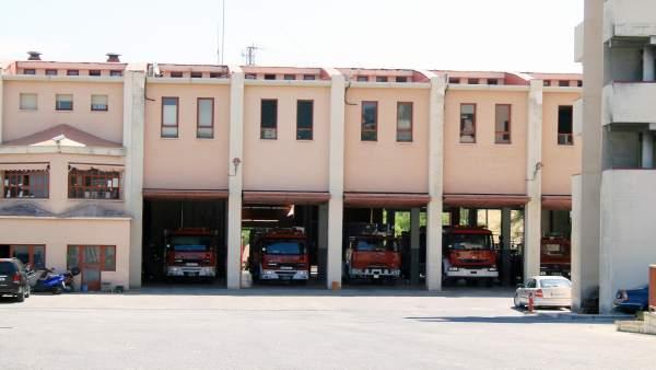 Parque de bomberos de Jaén