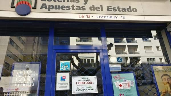 Administración 13 de Logroño valida boleto El Millón de Euromillones