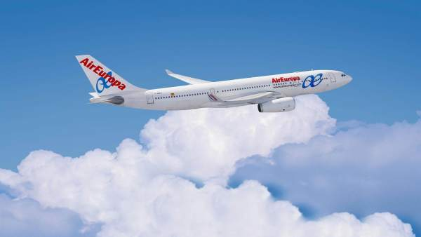 Avión De AirEuropa