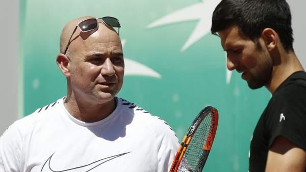 Agassi y Djokovic