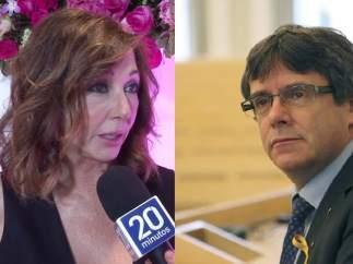 Ana Rosa Quintana y Puigdemont