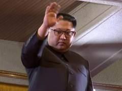 Kim Jong-un, en un concierto de músicos surcoreanos