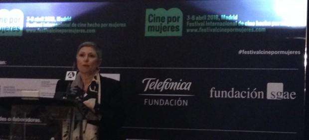 Carlota Álvarez en la presentación del festival