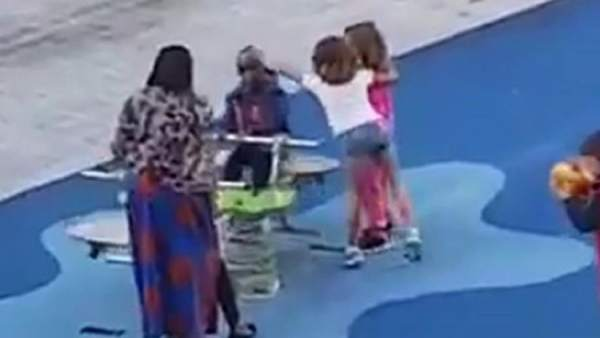 Uma criança foi atacada em um playground no bairro de Santutxu, em Bilbao.