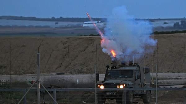 Disparos en la franja de Gaza