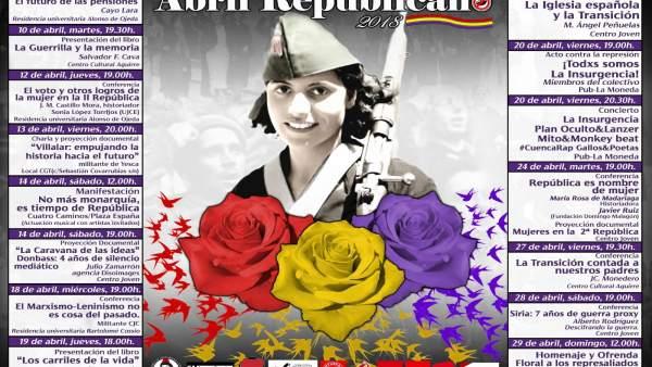 Cartel de 'Abril Republicano'