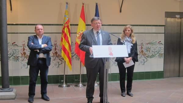 """Puig destaca que la Comunitat lidera """"de nou"""" la recuperació de llocs de treball"""