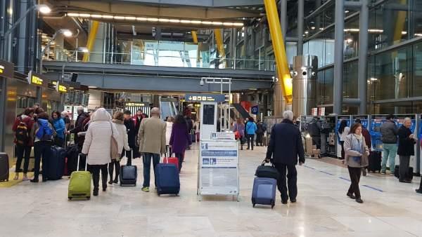 414db624cc Huelgas en los aeropuertos españoles para Semana Santa 2019