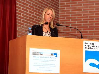 Annabel Marcos, directora del Institut de Seguretat Pública de Catalunya.