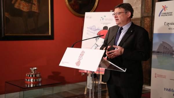 El presidente de la Generalitat, Ximo Puig, en una imagen de archivo