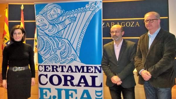 Presentación del XLVII Certamen Coral de Ejea de los Caballeros.
