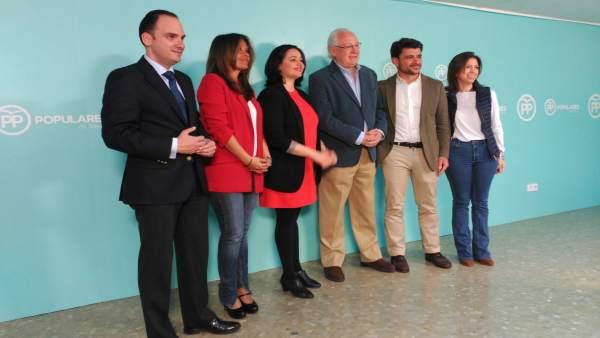 Presentación del equipo de campaña electoral del PP de Sevilla