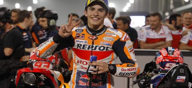 El piloto español de MotoGP Marc Márquez