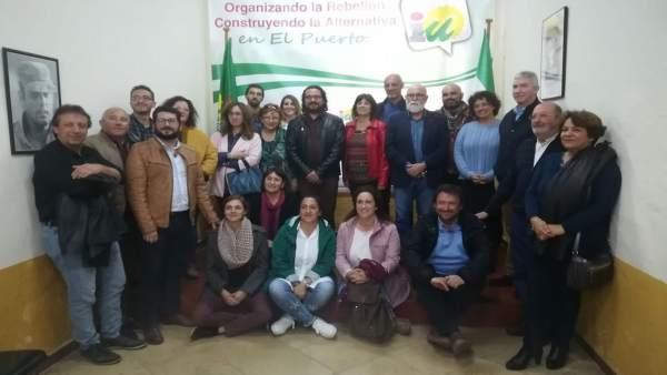 Reunión de IU Cádiz con asociaciones saharauis