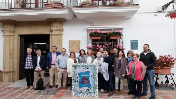 Presentación de la caminata solidaria en Marbella