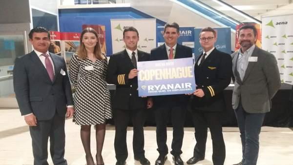 Nueva ruta de Ryanair de Sevilla a Copenhague.