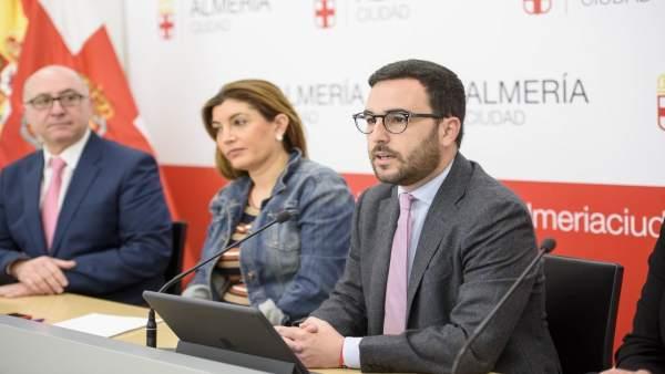 Lafita y Sánchez, en rueda de prensa