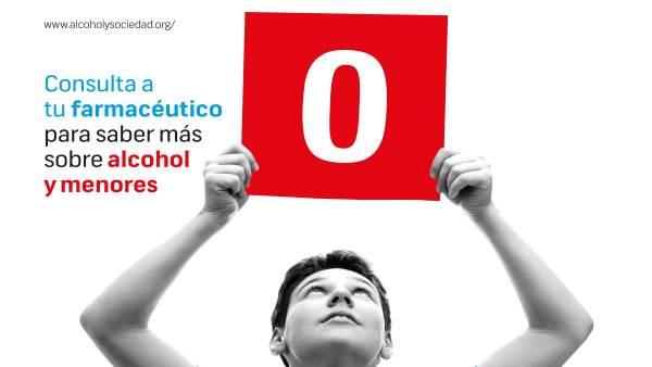 Las farmacias inician una campaña para prevenir el consumo de alchol en jóvenes