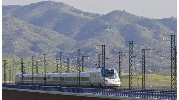AVE Málaga-Madrid