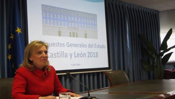 La delegada del Gobierno valora los PGE de 2018