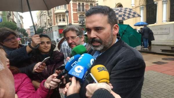 Ricardo Fernández, concejal de Seguridad Ciudadana.