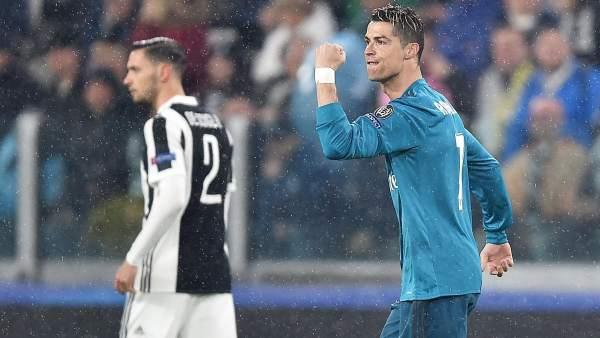 Gol de Cristiano ante la Juventus