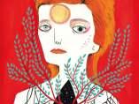 Portada libro ilustrado Bowie biografía
