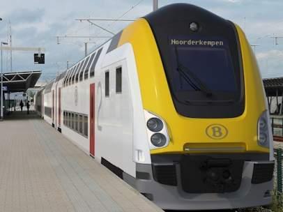 Empresa estatal de ferrocarriles de Bélgica SNCB.