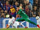 Gol del Barça a la Roma